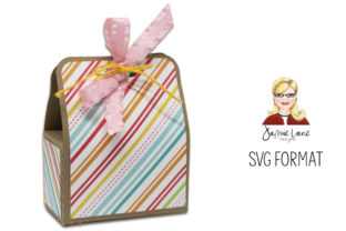 Small Tote Box Graphic 3D SVG By Jamie Lane Designs