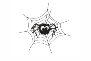 Spider Halloween Embroidery Design By LizaEmbroidery