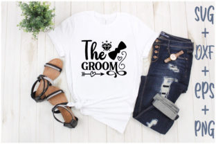 Print on Demand: The Groom Graphic Print Templates By Creative_Artist