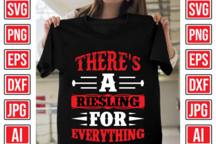 There's a Riesling for Everything Graphic Print Templates By Creative Studio20
