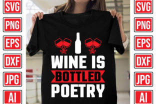 Wine is Bottled Poetry Graphic Print Templates By Creative Studio20