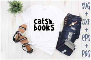 Print on Demand: Cats Books Graphic Print Templates By Creative_Artist
