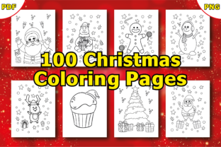 Christmas Coloring Book Pages for Kids Graphic Coloring Pages & Books Kids By LeliDesigns