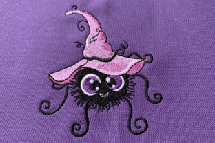 Funny Halloween Spider Halloween Embroidery Design By Canada Crafts Studio
