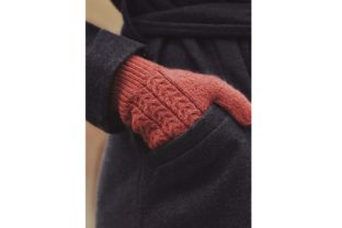 The Juniper Gloves Knitting Pattern Graphic Knitting Patterns By DarlingJadore