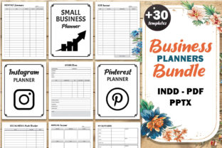 Print on Demand: Small Business Planner Bundle KDP Graphic KDP Interiors By Fayne