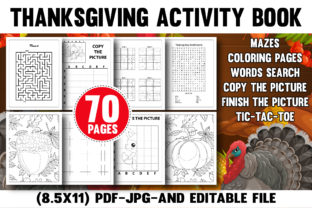 Thanksgiving Activity Book for Kids Kdp Graphic Coloring Pages & Books Kids By Color Code