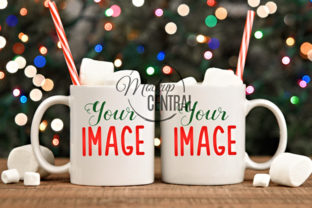 Christmas Coffee Cups Mockup Set Graphic Product Mockups By Mockup Central