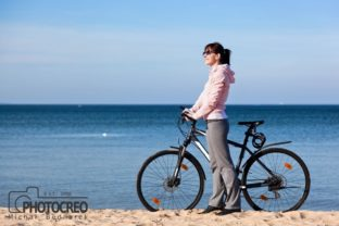 Bicycle Trip Graphic People By photocreo