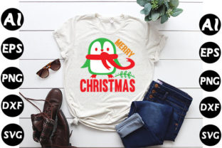 Print on Demand: Christmas Quote Design, Merry Christmas Graphic Print Templates By SVG Art