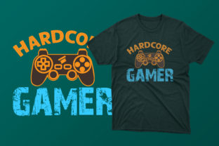 Print on Demand: Hardcore Game Graphic Graphic Templates By Creative Design Store
