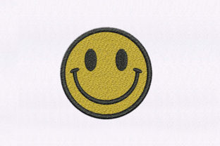 Smiley Face Emoji Teenagers Embroidery Design By StitchersCorp