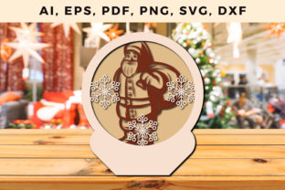 Print on Demand: Layer CHRISTMAS ORNAMENTS Craft File Svg Graphic 3D SVG By NGISED