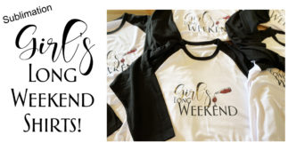 Sublimation: Girl's Long Weekend Shirts