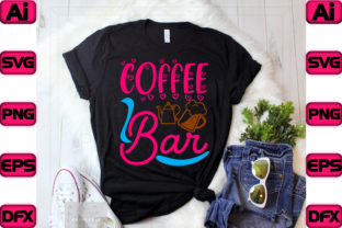 Coffee Bar Graphic Print Templates By The_SVG_hill
