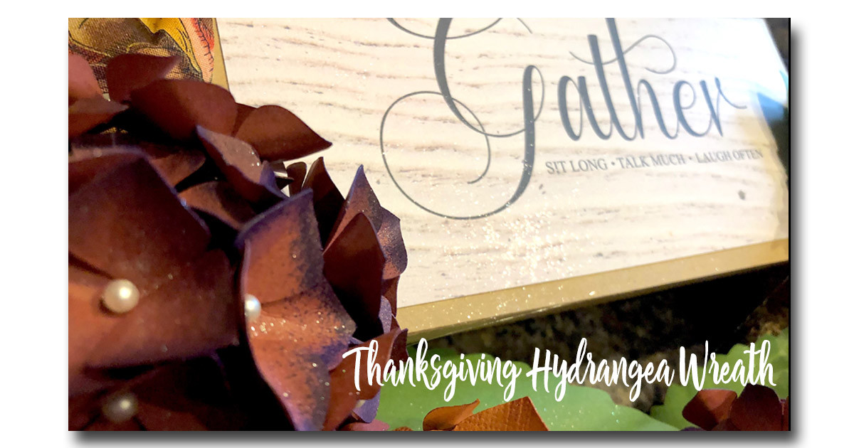 Dress Up Your Entryway With This Thanksgiving Wreath