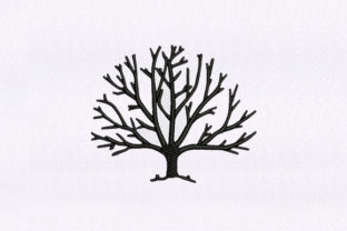Delightful Tree Forest & Trees Embroidery Design By StitchersCorp