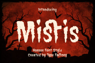 Print on Demand: Mistis Display Font By TypeFactory