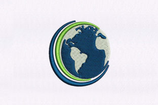 Our Earth Around the world Embroidery Design By StitchersCorp