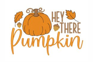 Pumpkin Thanksgiving Embroidery Design By NinoEmbroidery
