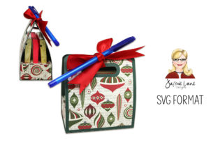 3 Sticky Note Holder Gift Graphic 3D SVG By Jamie Lane Designs