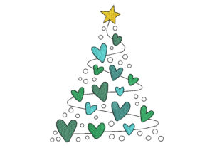 Christmas Tree Christmas Embroidery Design By Canada Crafts Studio