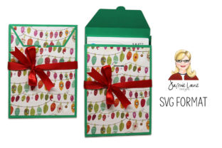 DVD and Video Game Gift Box Graphic 3D SVG By Jamie Lane Designs