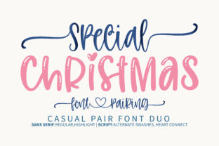 Print on Demand: Special Christmas Display Font By BitongType