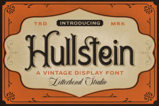 Print on Demand: Hullstein Display Font By letterhend
