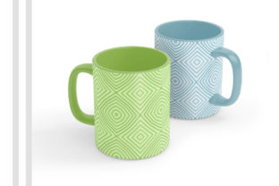 Mug Sublimation Design – Pattern Graphic Print Templates By Picto Graphy
