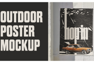 Outdoor Poster Mockup in Adobe Photoshop Classes By jessenyberg