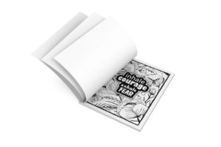 Print on Demand: Inspirational Coloring Page for Adults Graphic KDP Interiors By Gabriel A. Hadheem