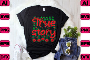 True Story Graphic Print Templates By The_SVG_hill