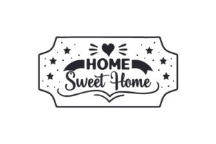Home Sweet Home Doors Signs Craft Cut File By Creative Fabrica Crafts