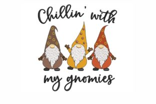 Fall Gnomes Autumn Embroidery Design By NinoEmbroidery