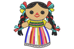 Lele Doll Toys & Games Embroidery Design By Embroiderypacks