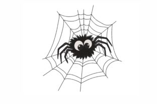 Spider Halloween Embroidery Design By SonyaEmbroideryStore