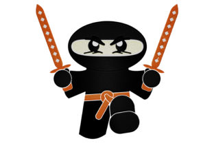 Print on Demand: Baby Ninja Babies & Kids Embroidery Design By embroidery dp