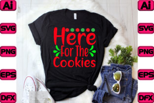 Here for the Cookies Graphic Print Templates By The_SVG_hill