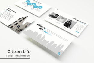 Print on Demand: Citizen Life Power Point Template Graphic Presentation Templates By Ian Mikraz