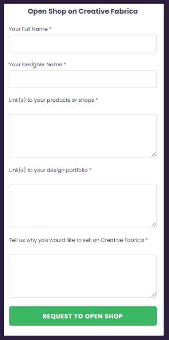 Sell your fonts and designs online