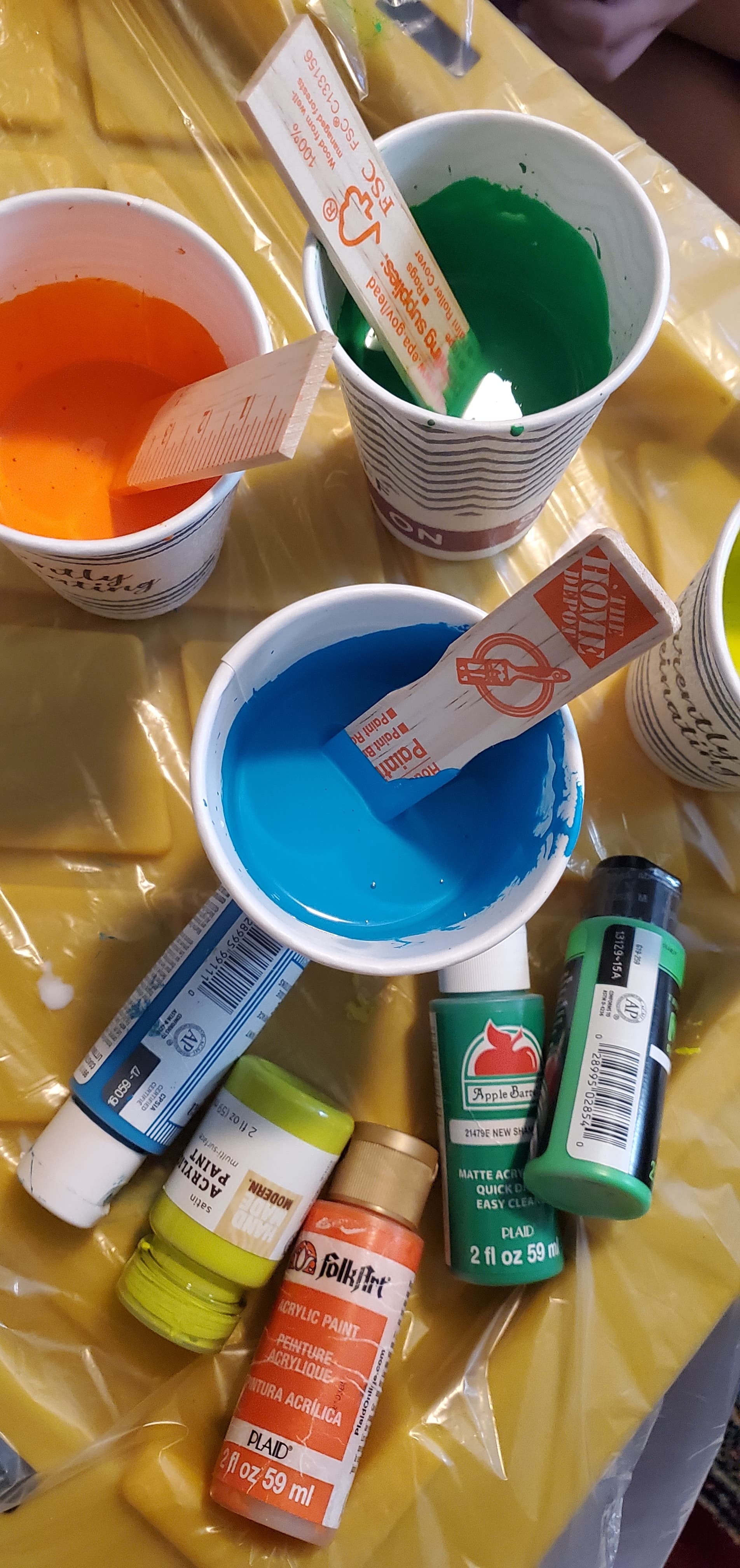 How to do a paint pour