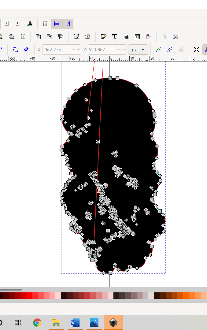 Using Dynamic Offset to Create outline for Vector Jellyfish