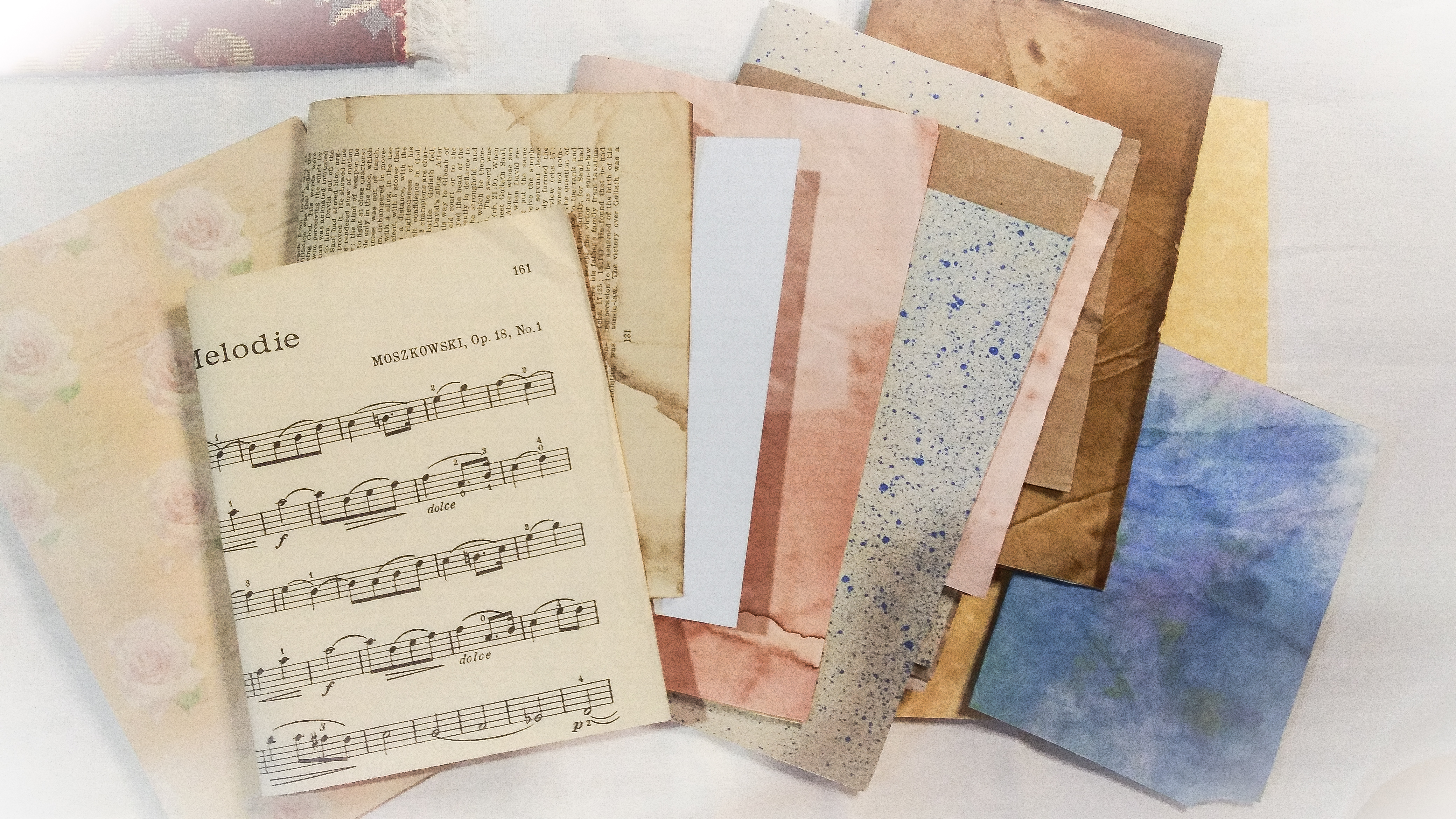 Papers for Junk Journal