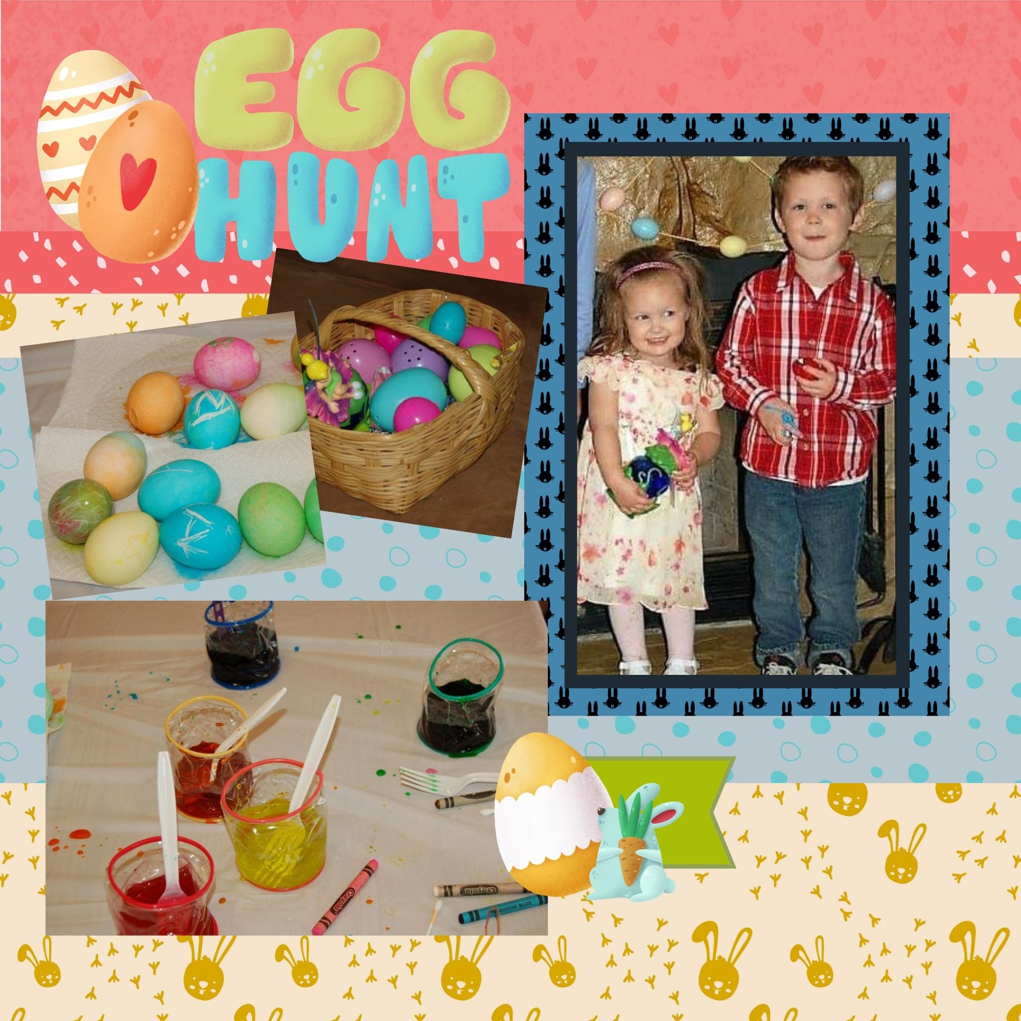 Easter Layout Page 1