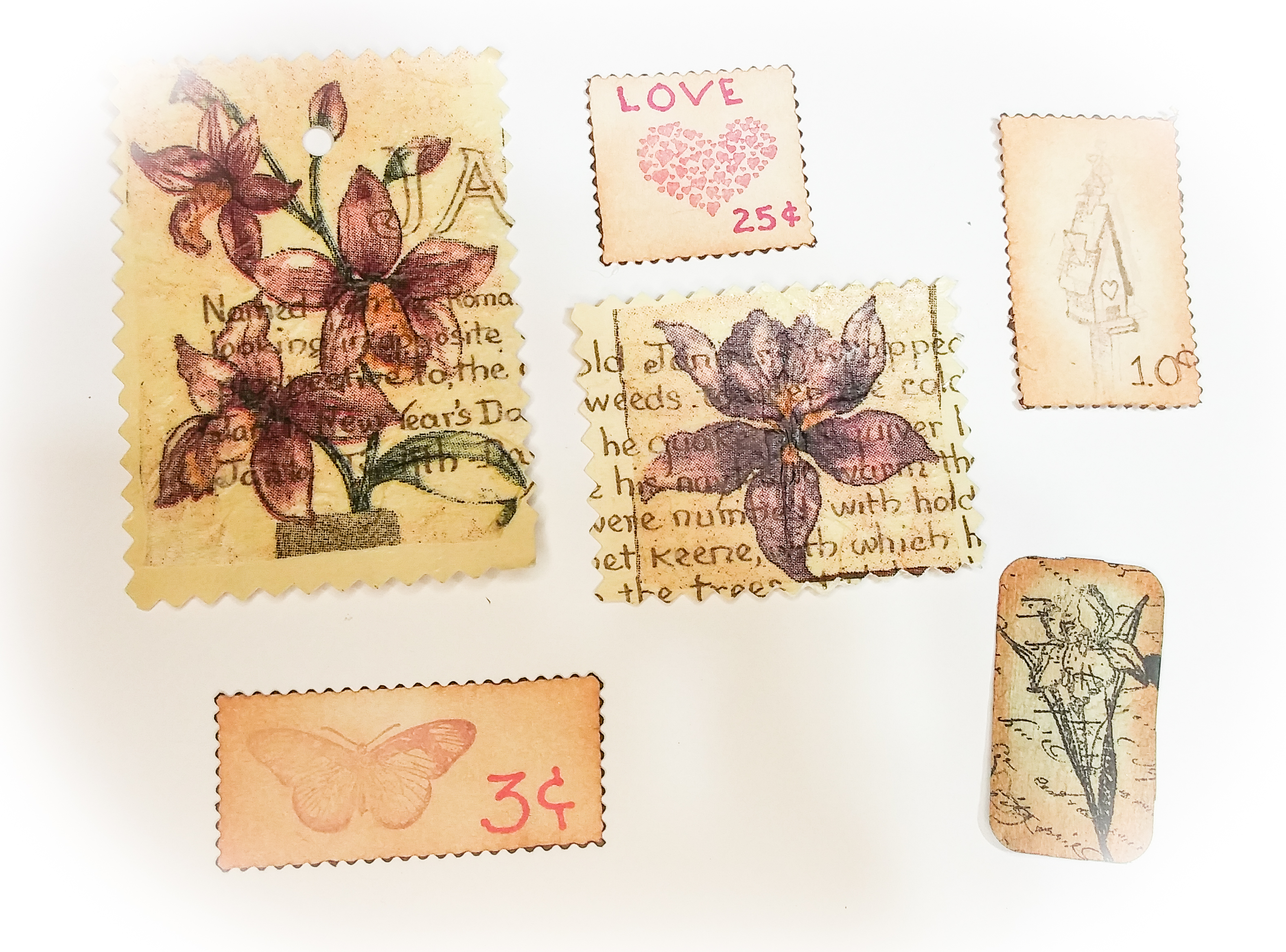 Faux Stamps