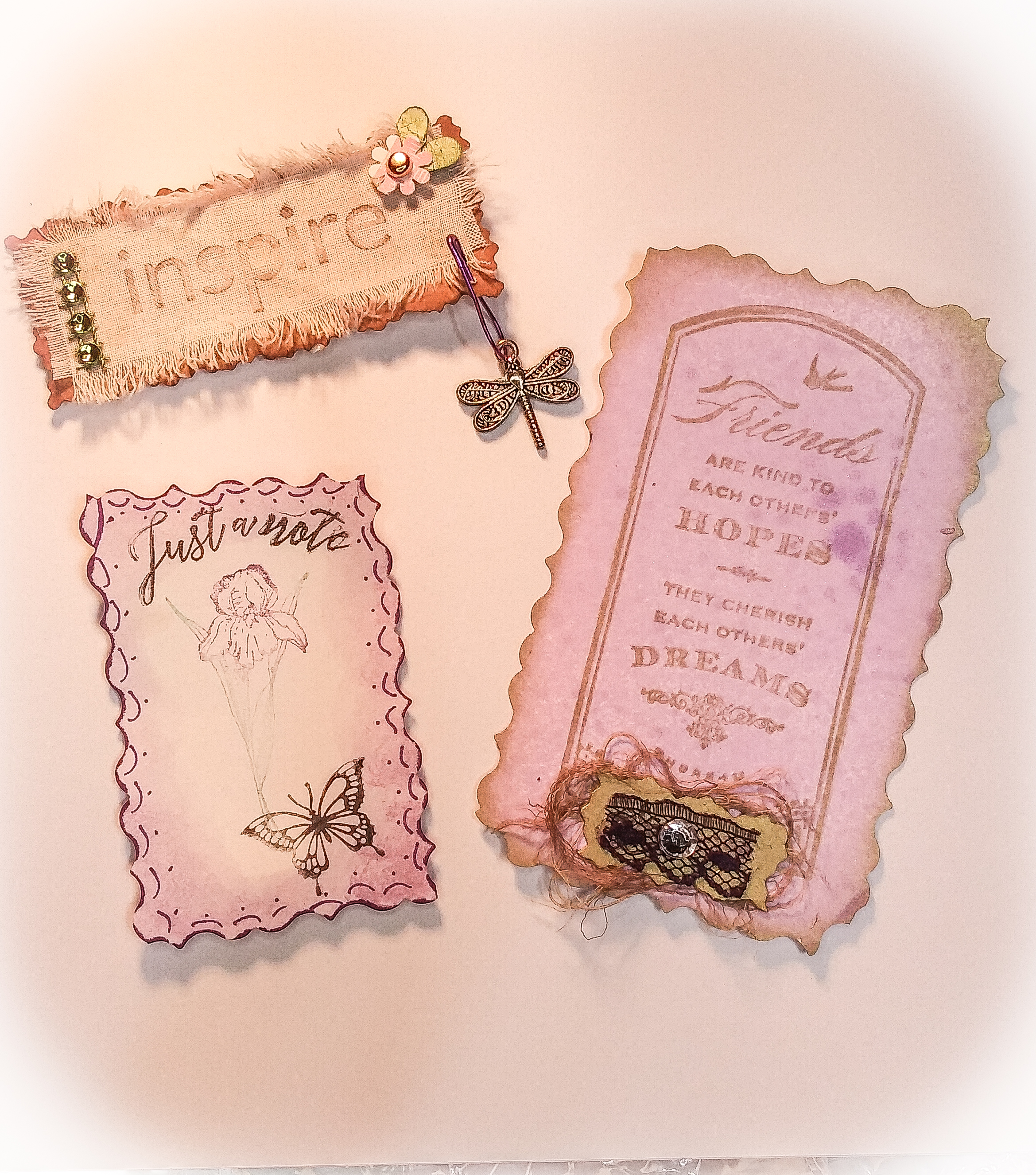 Stamped embellishments