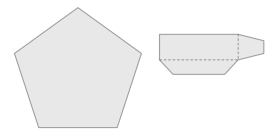 An example of the extended lid shape and lid side piece