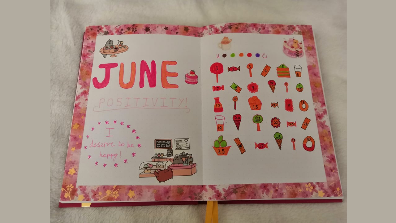A themed cover page