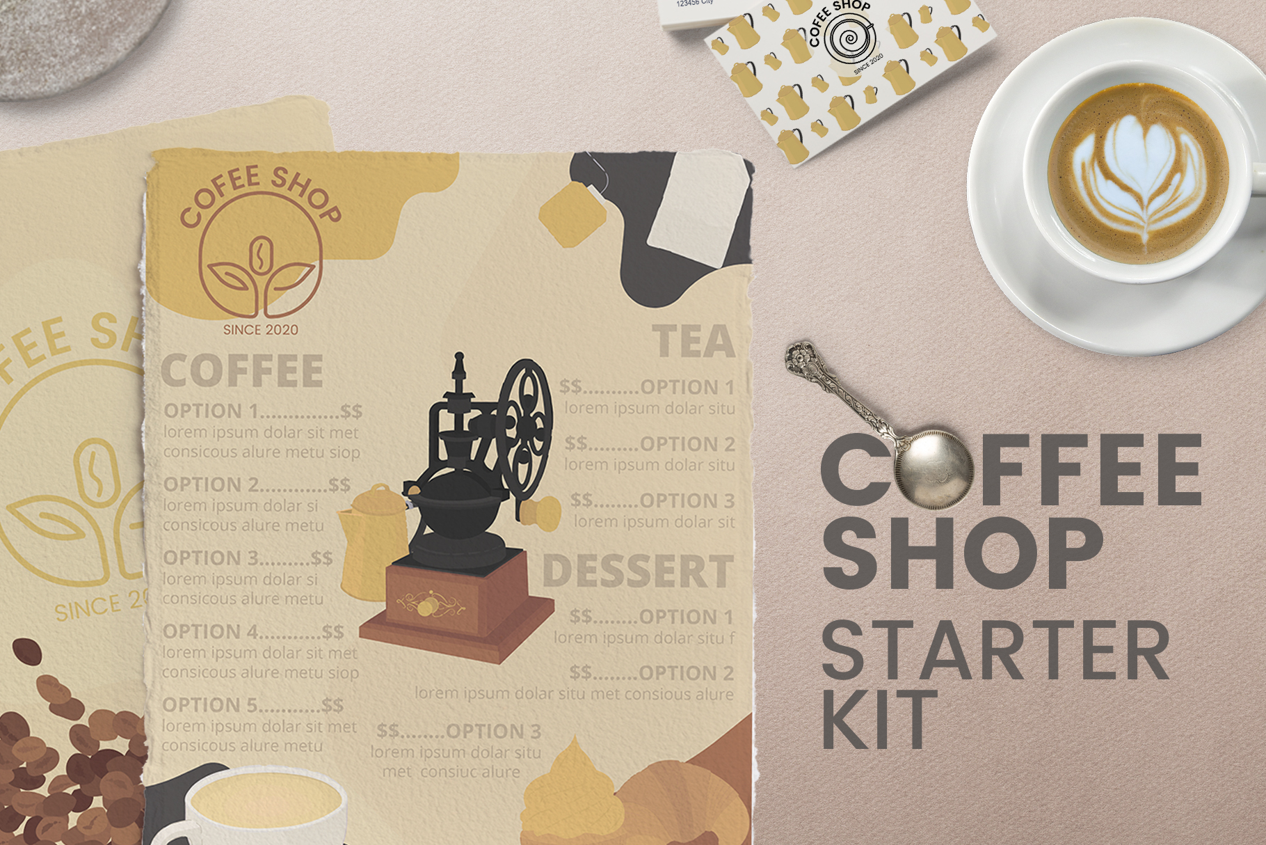 Quality Template for Coffee Shops